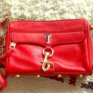 Rebecca Minkoff Red Bag with T